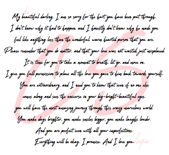 A Letter To Me