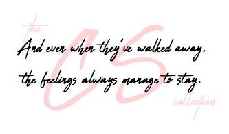 Feelings Stay
